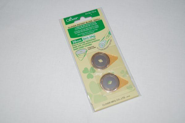 Clover skæreblade 28 mm
