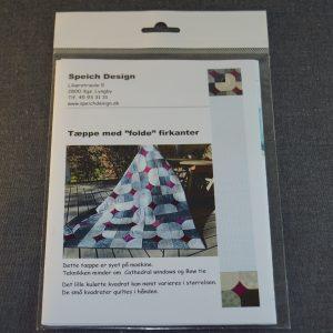 Tæppe m folde firkant