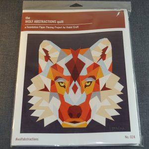 Paper Piecing wolf