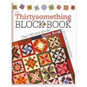 Gayle Bong Thirty Something Black Book Patchwork Bog