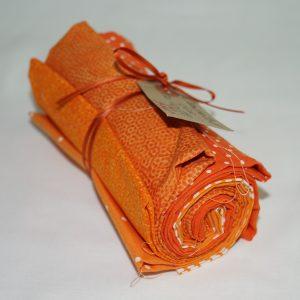 Stofbundt orange