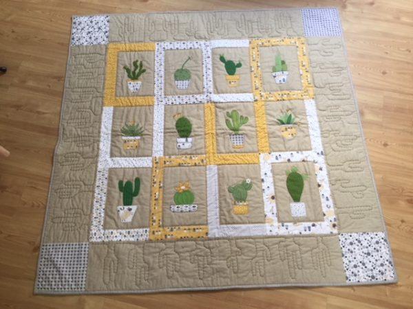 Kaktus tæppe