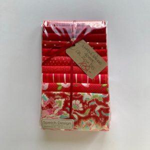 Speich Design Symfoni Rød Stofpakke patchwork