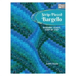 Judith Steele Strip Pieced Bargello Patchwork Book Bog