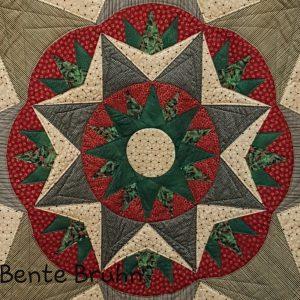 BB Compass juletræs tæppe