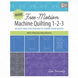 Free Motion Machine Quilting Lori Kennedy Book Bog Patchwork